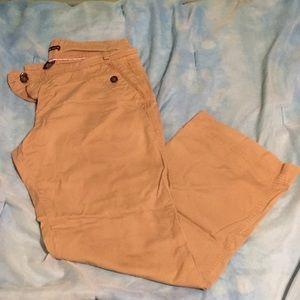 New York & Company Pants - NY&Co tan chino pants size 16